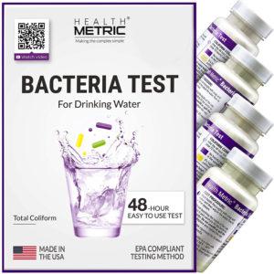 Rest Rapido para la deteccion de bacterias en agua